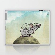 Tiny and the Cheese Moon Laptop & iPad Skin