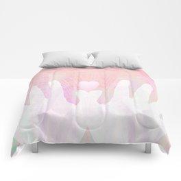 Healing Hands Pink Comforters