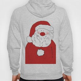 Cute Blushing Santa Hoody
