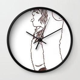 Punk Ram Wall Clock