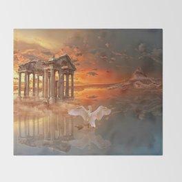 Tetrapylon of Aphrodisias Throw Blanket