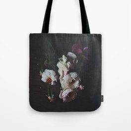 English Roses Still Life - Dark Number Two Tote Bag