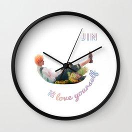 BTS Love Yourself Answer Design - Jin Wall Clock