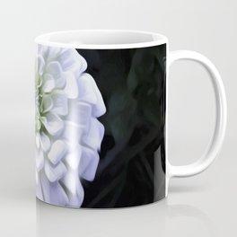 The White Zinnia Coffee Mug