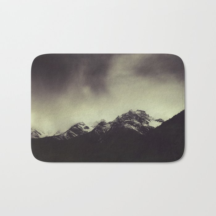 Shadow Mountain - Italian Alps Bath Mat