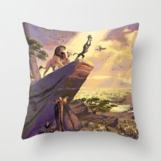 The Lion King - The Circle of Life Throw Pillow