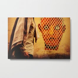 The Face of Marrakech Metal Print
