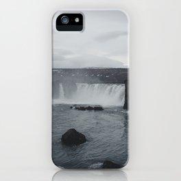 Miniature Niagara Falls iPhone Case