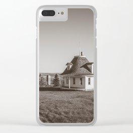 Hurd Round House, Wells County, North Dakota 22 Clear iPhone Case