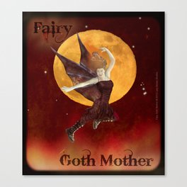 FAERIE GOTH MOTHER - 033 Canvas Print