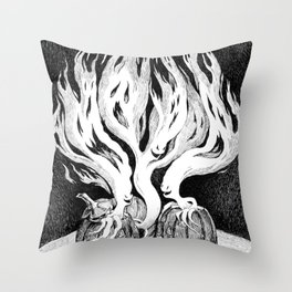 Halloween Escape Throw Pillow