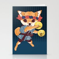 doge Stationery Cards featuring CHAPPA DOGE by f-premaur
