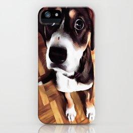 Marty The Soulful Eyed Dog  iPhone Case