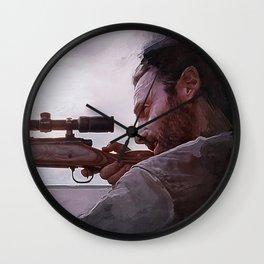 Rifleman Rick Grimes - The Walking Dead Wall Clock