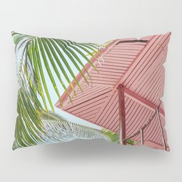 Life Under The Palm Tree Pillow Sham