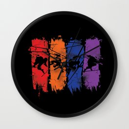 TEENAGE MUTANT NINJA TURTLES Wall Clock