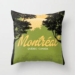 Montreal - Quebec - Canada Throw Pillow