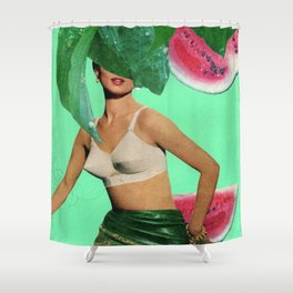 Nice Melons Shower Curtain