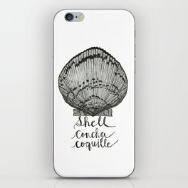 Shell Concha Coquille iPhone Skin
