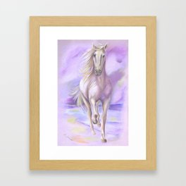 Dream Horse - Horse Painting Framed Art Print