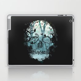 Dark Forest Skull Laptop & iPad Skin