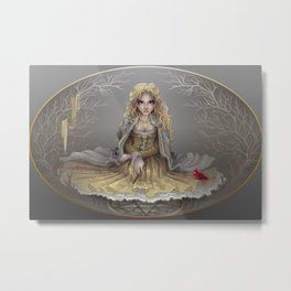 Your White Magic Metal Print