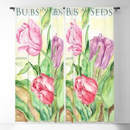 Old Bulbs & Seeds Pack Blackout Curtain