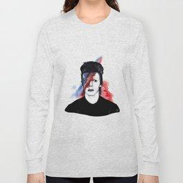 "Bowie - ""Starman"" Long Sleeve T-shirt"