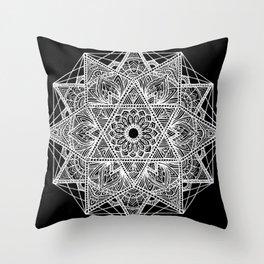 Untitled I (black) Throw Pillow
