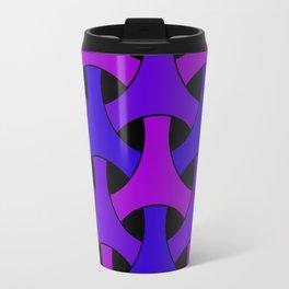 Geometric Design 2 (Purple) Travel Mug