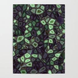 Fractal Gems 04 - Emerald Dreams Poster
