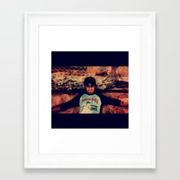 70s Framed Art Prints featuring 70s by melrevelry