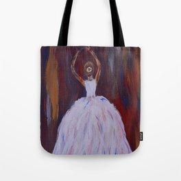 Take A Bow, Ballerina Dance Art Tote Bag