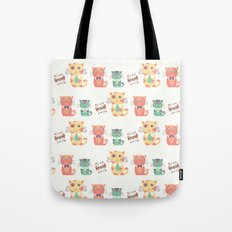 Business Cats Tote Bag