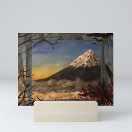 Fujiyama San Mini Art Print