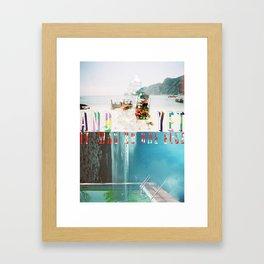 And Yet Framed Art Print