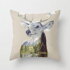 Mo'deer' Nature Throw Pillow