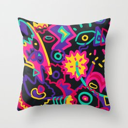 Ethereal Foreshadow Throw Pillow