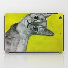 crooked kitty iPad Case