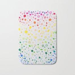Rainbow shower Bath Mat