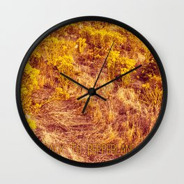 Back to Pepperland. Wall Clock