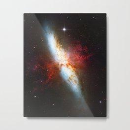 Galaxial Hydrogen Plumes Metal Print