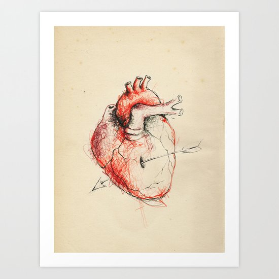 Cabinet of Curiosities No.5 Art Print