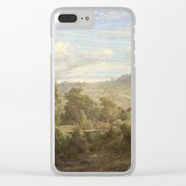 Louis Buvelot - Between Tallarook and Yea (1880) Clear iPhone Case