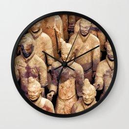 Terracotta Warriors 1 Wall Clock