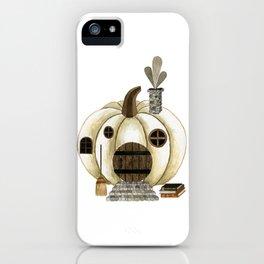 pumpkin home iPhone Case