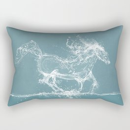 The Water Horse Rectangular Pillow