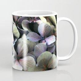 hydrangea flower macro Coffee Mug