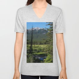 Beautiful Bow Valley Unisex V-Neck
