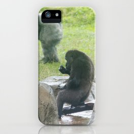 Grabbing a drink iPhone Case